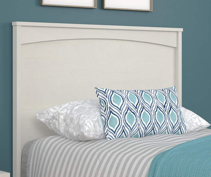 CRESCENT POINT IVORY TWIN HEADBOARD lifestyle