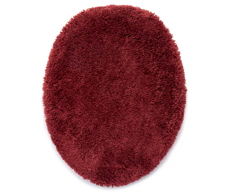 Cabernet Red Toilet Lid Cover silo front