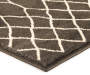 Caleb Charcoal Area Rug 6 feet 6 inches by 8 feet 6 inches thickness view silo image