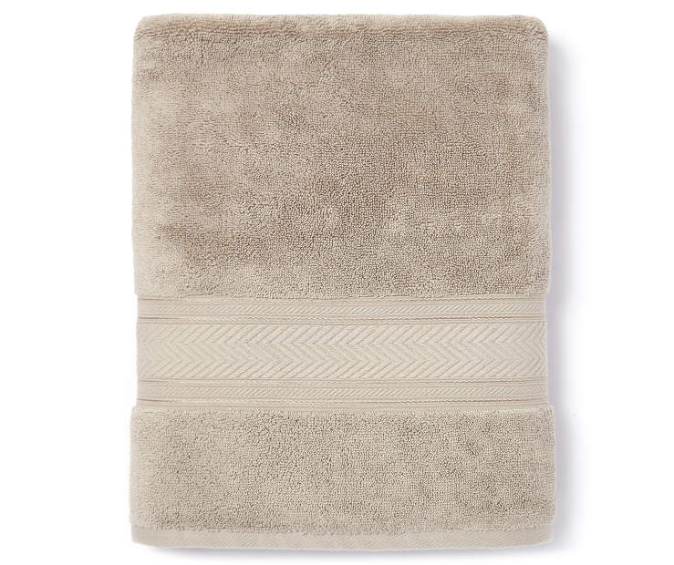 Cashmere Tan Bath Towel Silo
