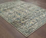 Cathedral Beige Area Rug 6FT7IN x 9FT6IN Silo Image On Wood Floor