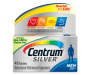 Centrum Silver Men (40 Count) Complete Multivitamin / Multimineral Supplement Tablet, Vitamin D3, B Vitamins, Zinc, Age 50+