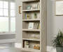 Chalked Chestnut Tan 5-Shelf Bookcase