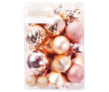 non combo product selling price 120 original price 120 list price 120 - Pink And Gold Christmas Decorations