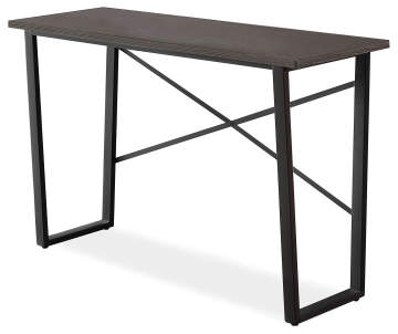 Charcoal Gray Wood Metal Console Table Big Lots