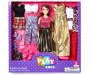 Chic Brunette Fashion Doll Set Silo In Package