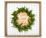Choose Joy Wreath Framed Plaque silo front