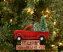 Christmas Tree Pick Up Truck Ornaments 3 Pack lifestyle