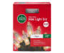 Clear Heavy Duty Mini Light Set on Green Wire 200 Count silo front package