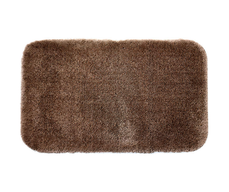 Coffee Bean Bath Rug 20 inches x 34 inches silo front
