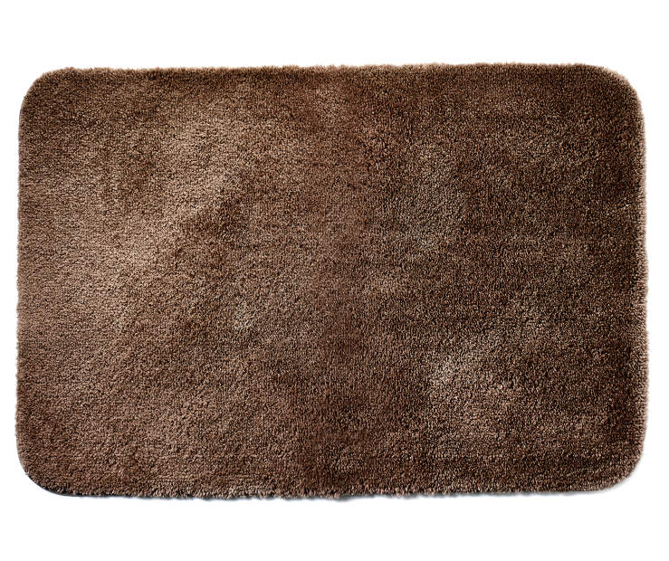 Coffee Bean Bath Rug 24 inches x 36 inches silo front