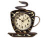 Coffee Cup Wall Clock Silo