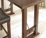 Colin 3 Piece Counter Dining Set Detail