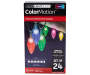 Color Changing C9 Light Set 24 Count silo front package view