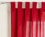 Colorado Red Curtain Panel Pair 84 inches swatch