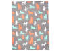 Colorful Dogs Soft Throw silo front