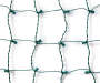 Cool White Net Light Set on Green Wire 150 Count silo front