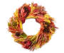 Corn Husk and Pinecone Wreath 22IN Silo