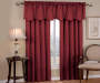 Corolo Burgundy Blackout Single Curtain Panel 63 inch lifestyle