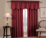 Corolo Burgundy Blackout Single Curtain Panel 84 inch lifestyle