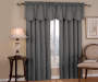 Corolo Charcoal Blackout Single Curtain Panel 63 inch lifestyle