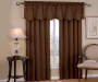 Corolo Chocolate Blackout Single Curtain Panel 95 inch lifestyle