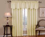 Corolo Ivory Blackout Window Valance 42 inch x 21 inch lifestyle