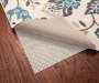 Cushioned Rug Pad with Comfort Grip 56 by 90 Wooden Floor Corner Rug Image
