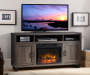 DIJON MEDIA OAK FIREPLACE