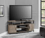 DISTRESSED GRAY OAK 50IN TV STAND lifestyle