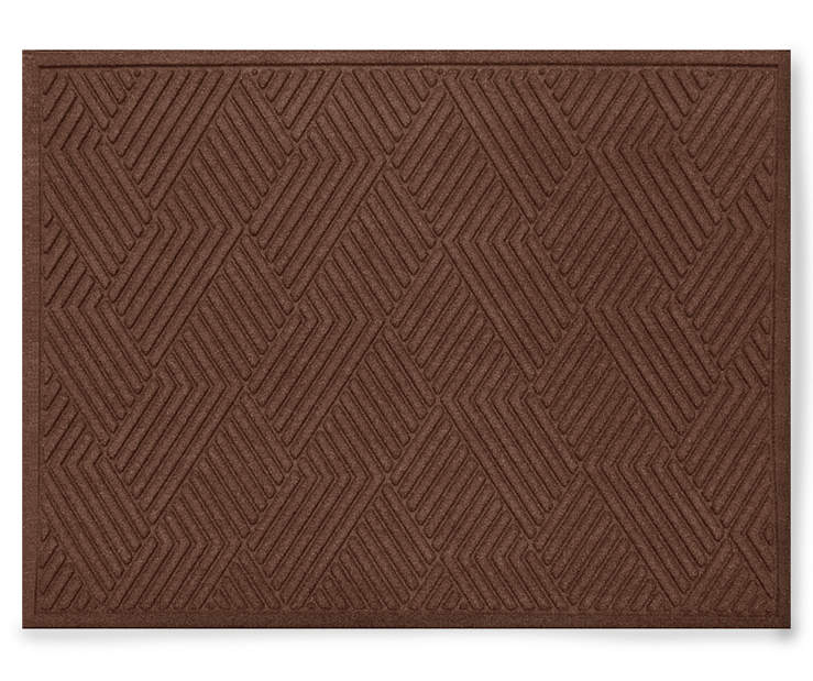 DOORMAT TEXTURE VANGUARD WALNUT 3X4