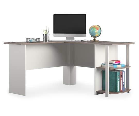 Ameriwood Dakota L Shaped Corner Desk Big Lots