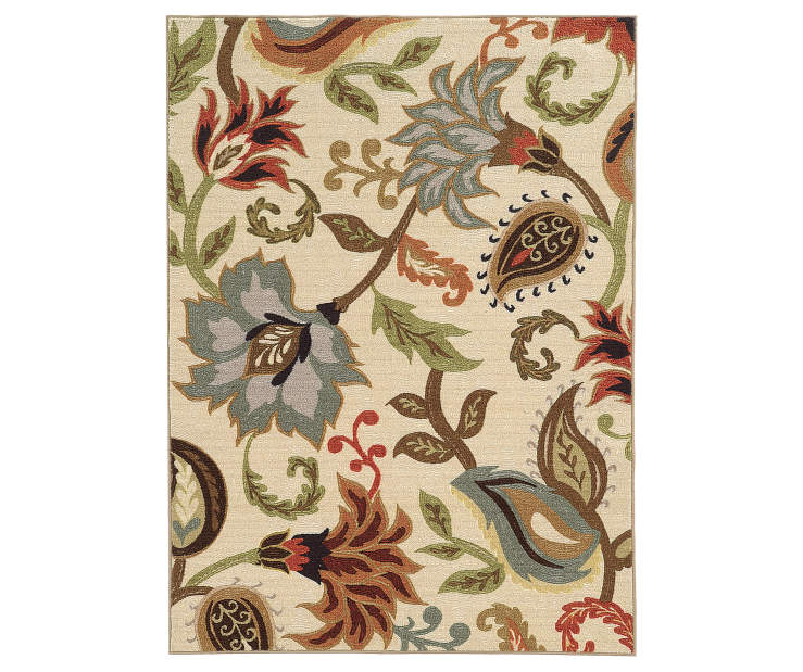 Dalewood Ivory Area Rug 7FT10IN x 10FT Silo Image