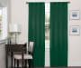 Danton Emerald Blackout Single Curtain Panel 63 inch lifestyle