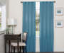 Danton Sky Blackout Single Curtain Panel 63 inch lifestyle