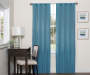Danton Sky Blackout Single Curtain Panel 95 inches Lifestyle