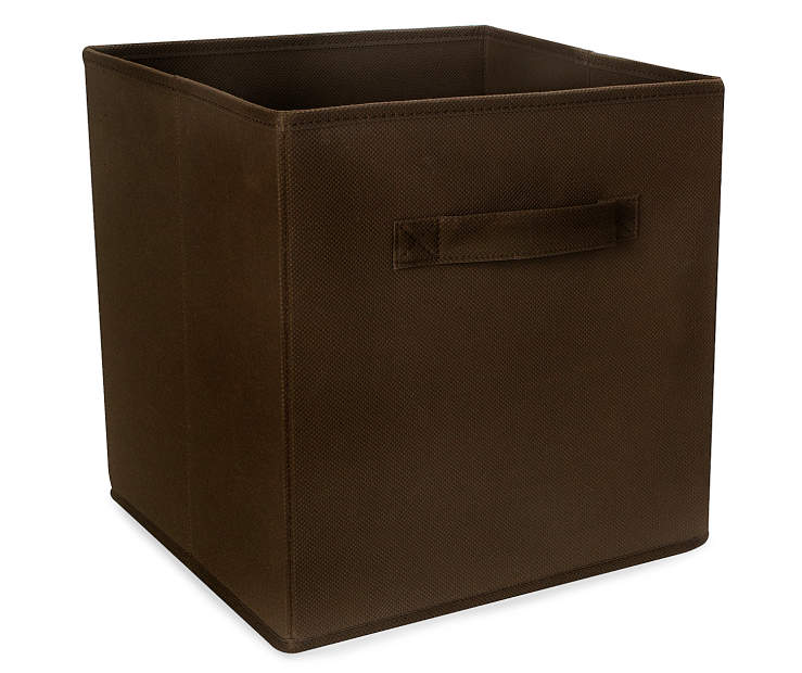 Dark Brown Fabric Bin Silo Image