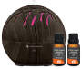 Dark Brown Mini Tree Pattern Diffuser and Oil Kit silo front