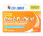 Daytime Cold & Flu Relief Softgels, 24 Count Silo Image Overhead View