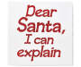 Dear Santa Box Wall Plaque silo front