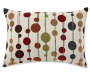 Decorative Dots Throw Pillow Front Design Silo