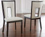 Delano Faux Leather Dining Chairs  2 Pack Lifestyle