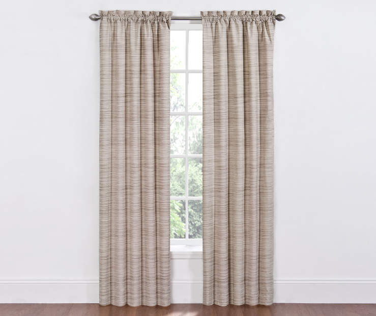 Dewey Marble Thermal Curtains 84 Inches on Window Room View
