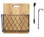 Diamond Wire Cutting Board Wall File Pocket Silo Image Front View with Hook Detail