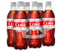 Diet Coke Bottles, 6-Pack, (16.9 Oz.)
