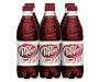 Diet Dr Pepper, 0.5 L Bottles, 6 Pack