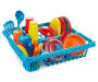 Dish and Drying Rack Play Set 27 Piece Out of Package Silo Image