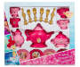 Disney Princess 26 Piece Dinnerware Play Set in Package Overhead View Silo Image
