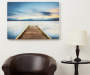Dock Photograph Lacquer Wall Art 36 inches x 26 inches scale image