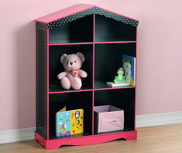 Just Home Doll House Bookcase